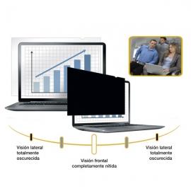 Filtros de privacidad, portátiles y monitores de pantalla panorámica