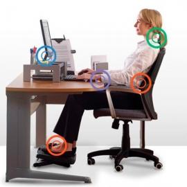 Distribuidor oficial fellowes atril store for Ergonomia en el puesto de trabajo oficina