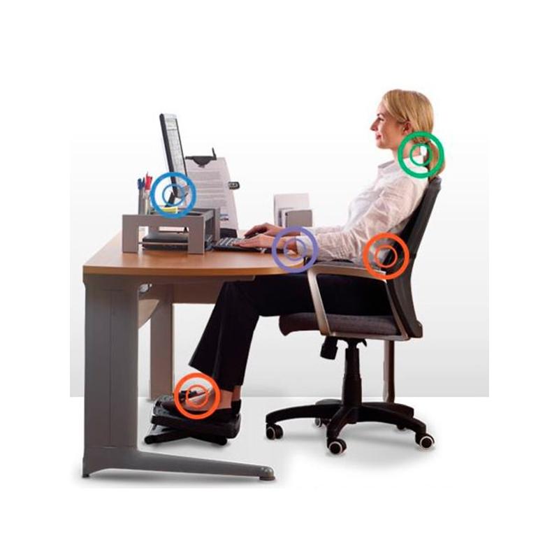 Pack ergonom a en el puesto de trabajo for Ergonomia en el puesto de trabajo oficina