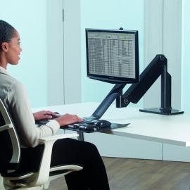 Estación de trabajo individual Sit Stand Fellowes Extend™