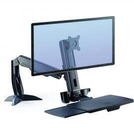 Estación de trabajo Sit Stand Fellowes Easy Glide™