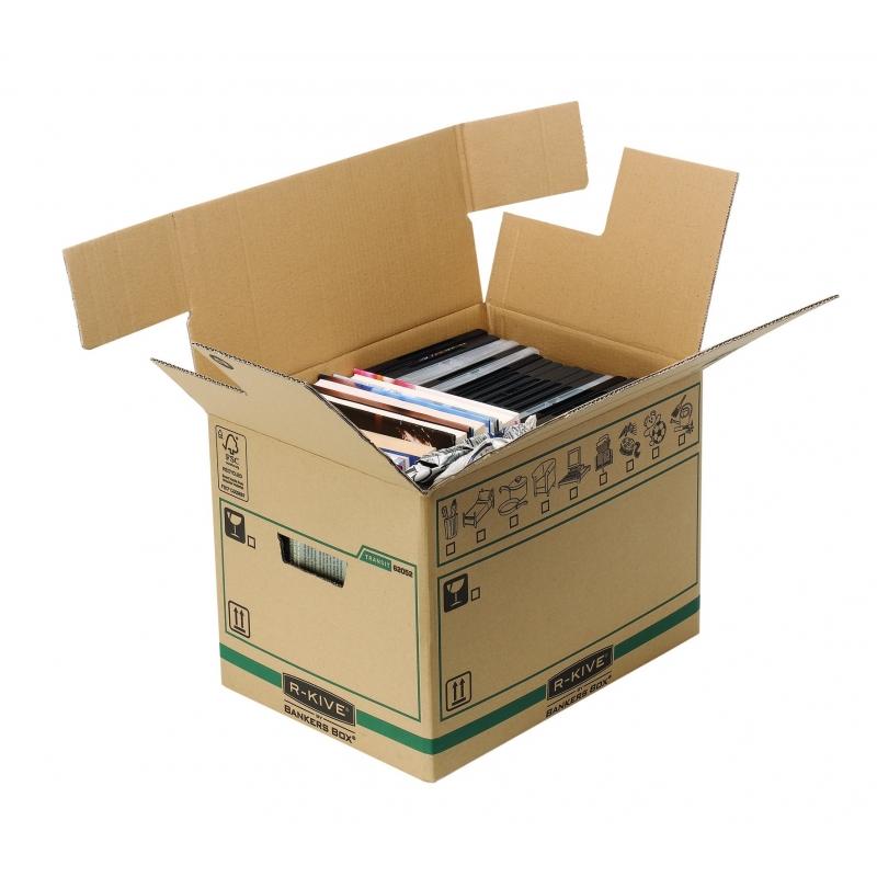 Caja de mudanza auto reutilizable grande 85 litros 5 - Cajas de mudanza ...