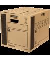 CAJA DE TRANSPORTE Y MUDANZAS EXTRA RESISTENTE CARGO BOX 1- 10u ( A 320 x ALT 320 x  PROF 400 mm)