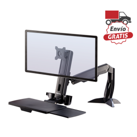 Estación de trabajo Sit Stand Fellowes Easy Glide™