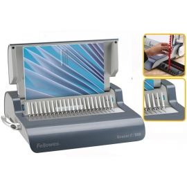 Quasar E 500 Encuadernadora de documentos, canutillo de plastico