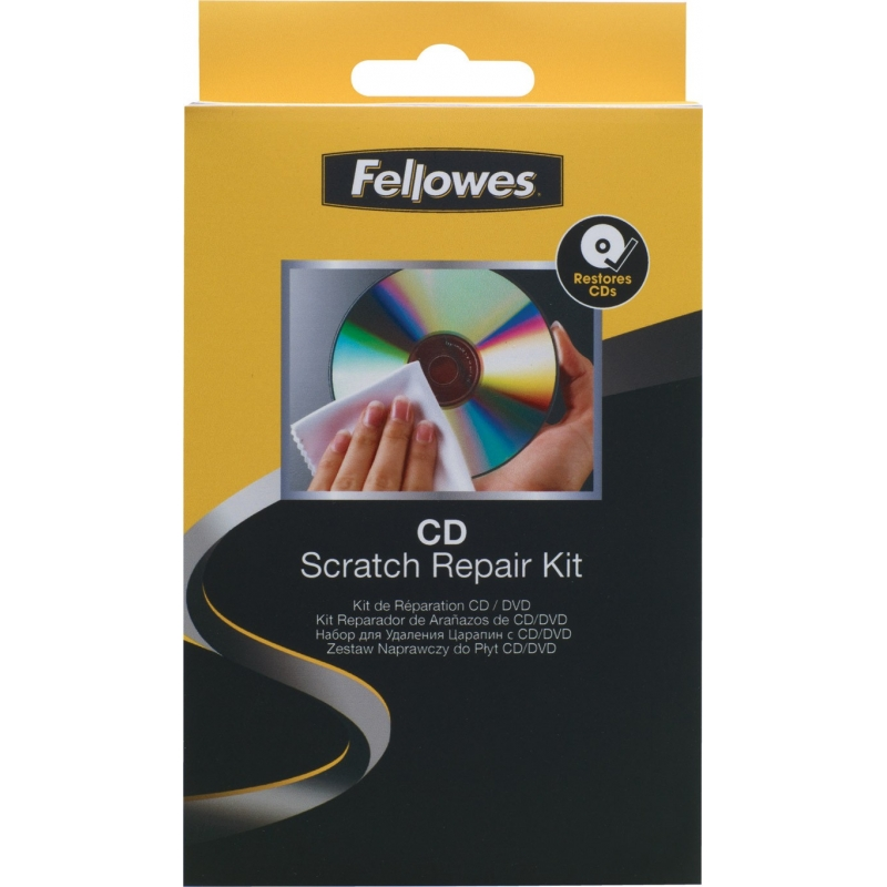 Reparador de ara azos para cd dvd fellowes for Reparador de aranazos