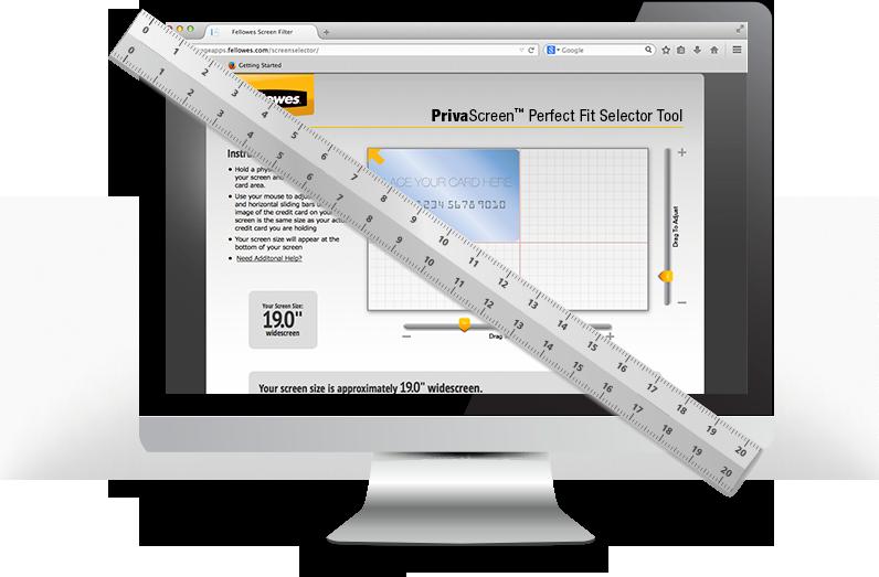 Selector de medida del filtro