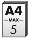 Máximo 5 hojas de A4