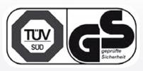 certificación de seguridad TUV/GS