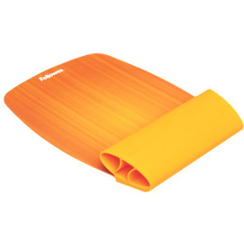REPOSAMUÑECAS FLEXIBLE FELLOWES NARANJA