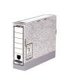 CAJA ARCHIVO DEFINITIVO A4 80MM SYSTEM (Gris) - 10 Uds.