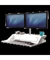 Estación de trabajo Sit-Stand Lotus™ DX Blanco