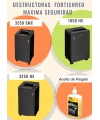 PROMO: DESTRUCTORA FELLOWES 3250HS + ACEITE 350ML